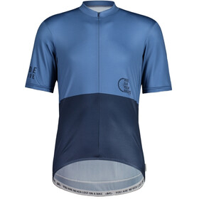 Maloja PushbikersM. Basic 1/2 Fietsshirt Korte Mouwen Heren, night sky